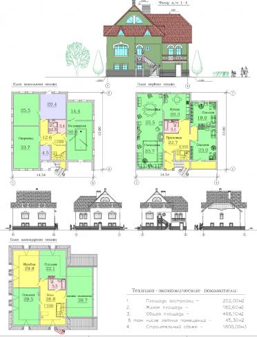 Ппроект дома AC-2