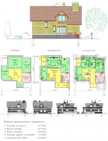 Проект дома AC-3