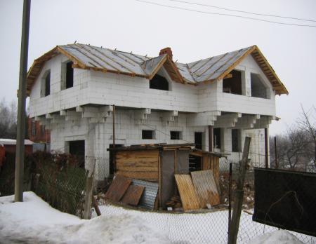 Проект коттеджа АС-40